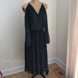 Michael Kors Dark green snake skin dress